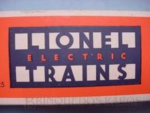 Brinquedos antigos -  - Logotipo, Art Deco, da Fábrica Lionel de Trens elétricos, USA, desde a década de 1930 até os dias atuais.