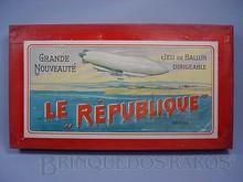 Brinquedos antigos -  - Rótulo da Caixa do Jogo de Roleta Le République fabricado pela Bing na Alemanha na década de 1910