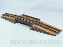 Brinquedo antigo Marklin Ponte Metálica com Cabeceiras Número 2400 Ano 1924 a 1923 Comprimento 57,00 cm
