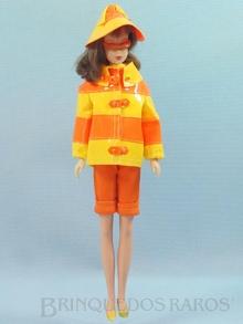 Brinquedo antigo Boneca Francie vestindo o Conjunto Clam Diggers Ano 1966