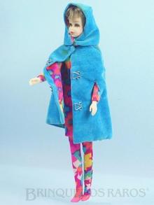 Brinquedo antigo Boneca Francie vestindo o Conjunto Style Setters Anos 1966 e 1967