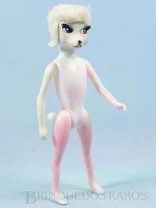 Brinquedo antigo Boneca Peteena com 23,00 cm de altura Fabricada pela Hasbro EUA em plástico assoprado e vinil Ano 1966