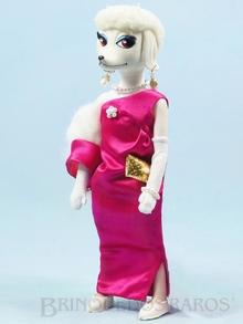 Brinquedo antigo Boneca Peteena vestindo o Conjunto Ooh La La para sair à noite Ano 1966
