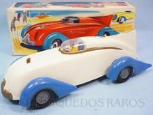 Brinquedos antigos -  - Carro de Corrida Siku 137 com 25,00 cm de comprimento Fabricado pela Siku Alemanha Carroceria de plástico rígido e mecânica de metal com motor à fricção Década de 1950