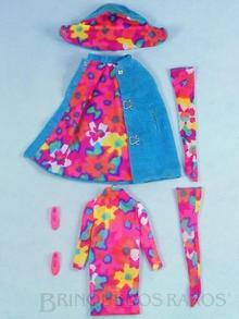 Brinquedo antigo Conjunto completo Style Setters com 5 itens Anos 1966 e 1967