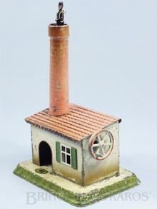 Brinquedos antigos -  - Limpador de Chaminé personagem folclórico Europeu com 25,00 cm de altura fabricado pela Doll Alemanha em lata Brinquedo movido por uma Caldeira à Vapor Década de 1920.