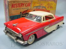 Brinquedos antigos -  - Plymouth 1956 com 30,00 cm de comprimento Fabricado pela Alps Japão em lata Apresenta motor à pilha e faróis que acendem Final da Década de 1950