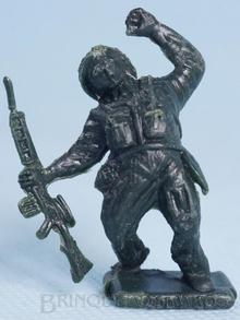Brinquedo antigo Soldado Toddy ferido numerado 10