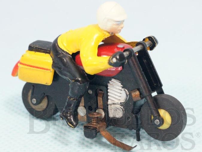 Brinquedo antigo Motocicleta com 6,00 cm de comprimento Série HO T-Jet Thunderbike Motorcycle Década de 1970