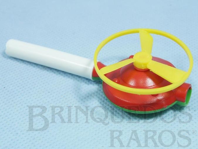 Brinquedo antigo Disco Voador de assoprar 4,00 cm de diamêtro Década de 1970