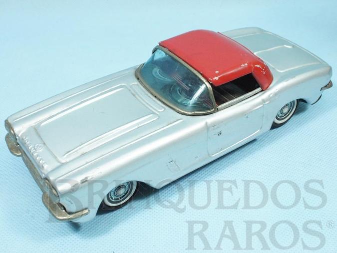Brinquedo antigo Chevrolet Corvette 1958 com 21,00 cm de comprimento Década de 1960