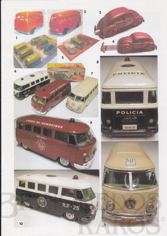 Brinquedo antigo Reportagem-Entrevista na revista Escocesa Volkswagem Model Club Magazine edição de Fevereiro de 2004 escrita por Bob LaPorte apresentando ao mundo as Miniaturas de Volkswagem Kombi fabricadas pela Metalma.