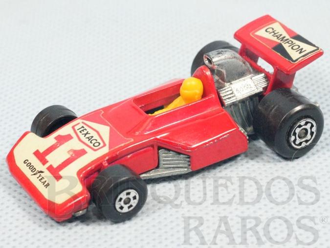 Brinquedo antigo Formula 5000 Superfast vermelho