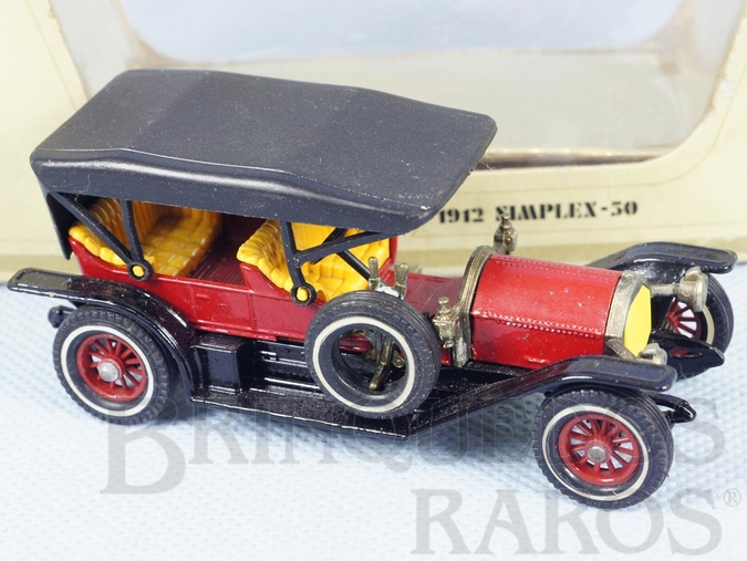 Brinquedo antigo 1912 Simplex Yesteryear Década de 1970