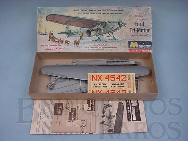 Brinquedo antigo Avião Ford Tri-Motor