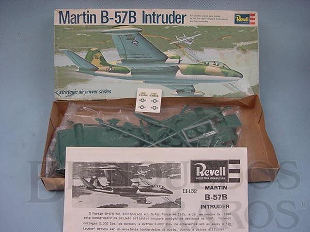 Brinquedo antigo Avião Martin B 57B Intruder