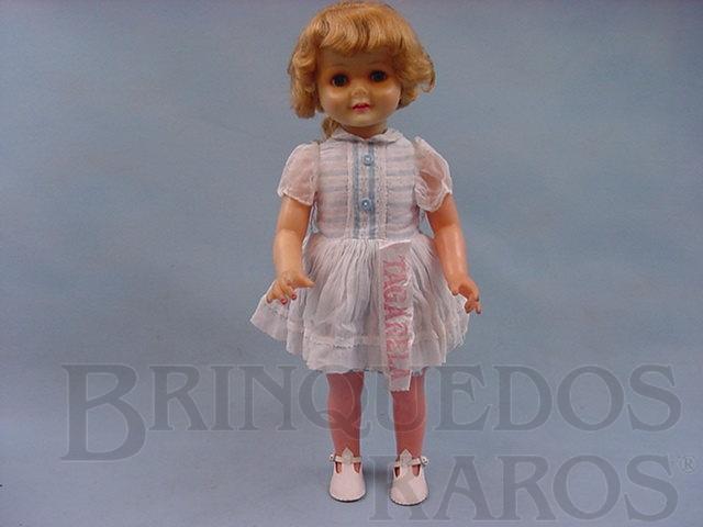 Brinquedo antigo Boneca Tagarela com 50,00 cm de altura Ano 1965