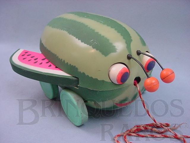 Brinquedo antigo Melancia Joaninha Década de 1970