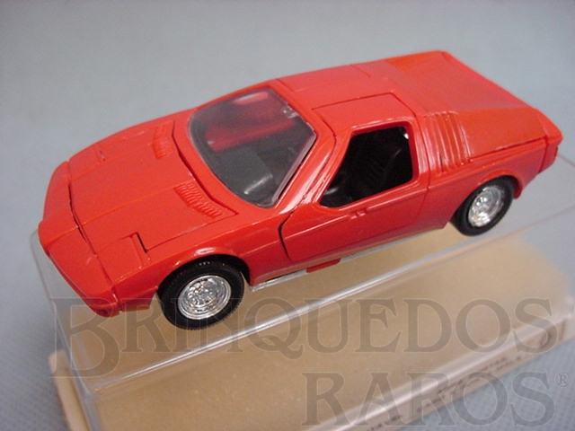 Brinquedo antigo BMW Turbo injetado em plástico Brasilianische Schuco Rei