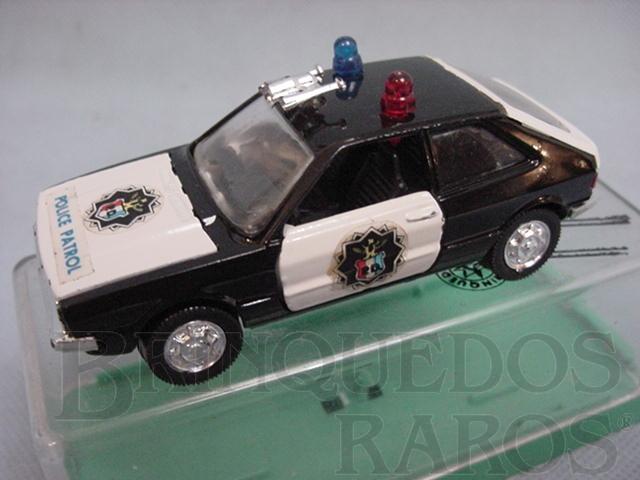 Brinquedo antigo Volkswagen Scirocco Police Brasilianische Schuco Rei