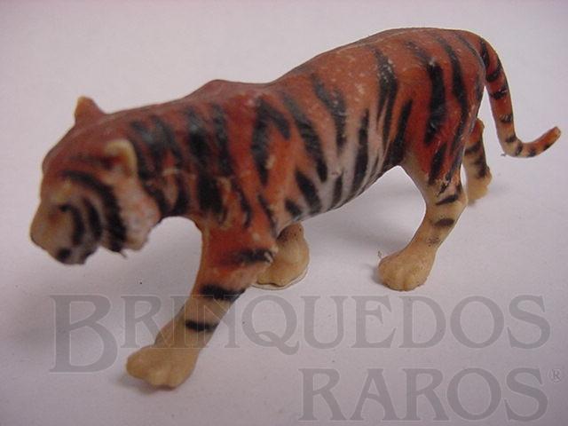 Brinquedo antigo Tigre de Bengala Década de 1970