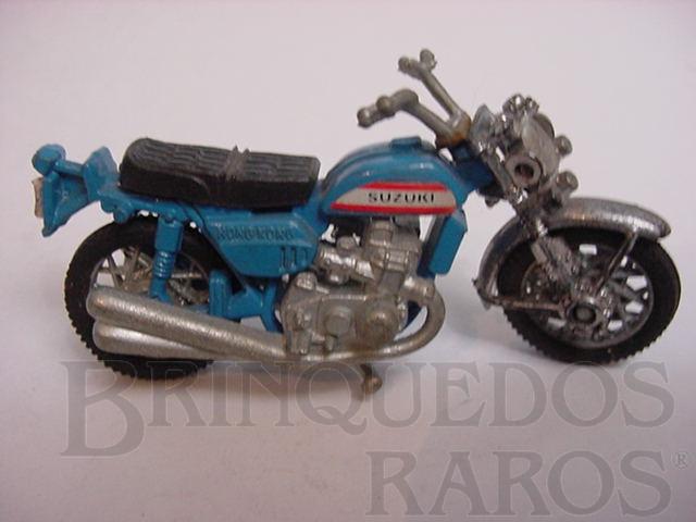 Brinquedo antigo Suzuki GT 750 1975 motor dois tempos