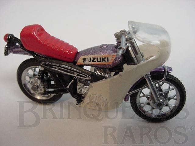 Brinquedo antigo Suzuki 250 Trial Década de 1980