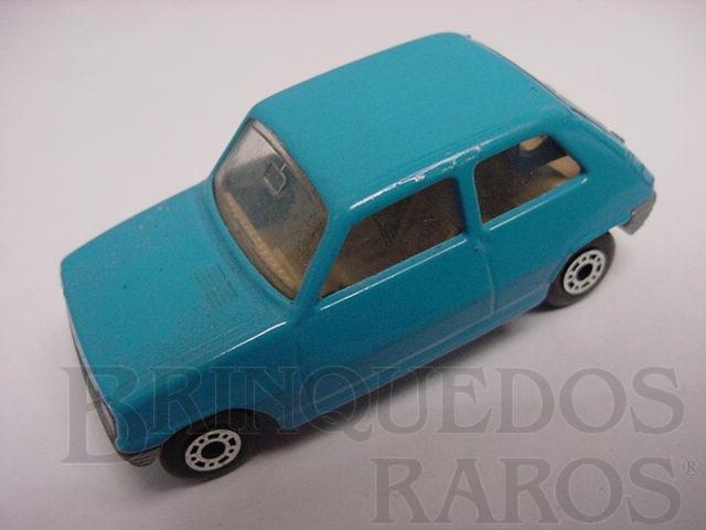 Brinquedo antigo Renault 5 TL Superfast azul Brazilian Matchbox Inbrima 1970