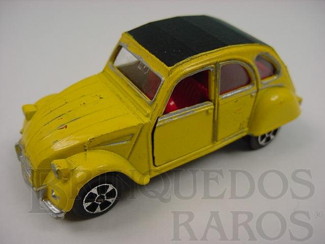 Brinquedo antigo Citroen 2CV6 Brazilian Corgi Jr Kiko Década de 1980