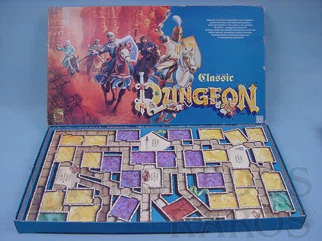 Brinquedo antigo Jogo de RPG Classic Dungeon