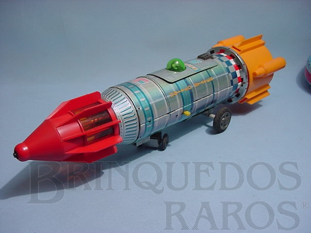 Brinquedo antigo Foguete Saturn 5 com 40,00 cm de comprimento Década de 1970