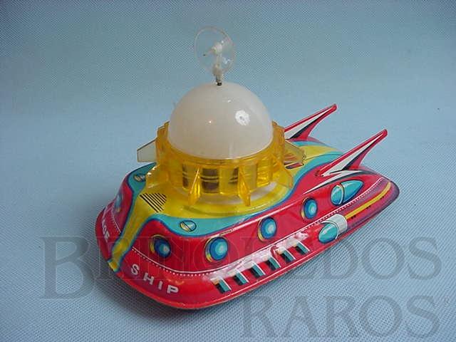 Brinquedo antigo Nave Espacial com 20,00 cm de comprimento Space Ship Mercury Esplorer Década de 1960