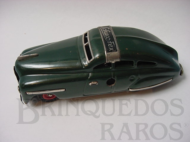 Brinquedo antigo Carro Fex verde Made in US Zone Década de 1950