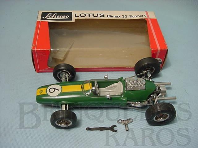 Brinquedo antigo Lotus 33 Formula 1 com 22,00 cm de comprimento Década de 1970