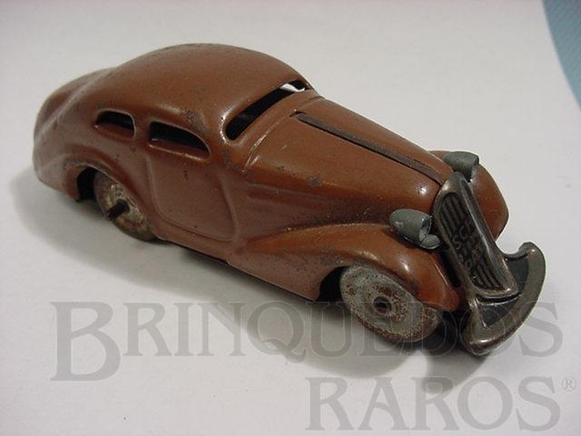 Brinquedo antigo Sedan Patente marron D.R. Patente Decada de 1930