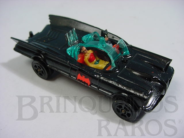 Brinquedo antigo Carro do Batman Batmobile Batmóvel Corgi Jr