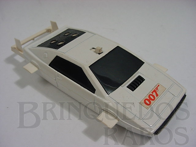 Brinquedo antigo Lotus Esprit 007 James Bond