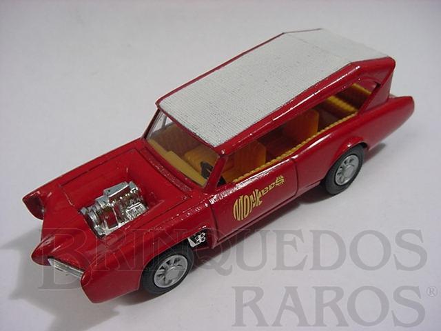 Brinquedo antigo Pontiac GTO dos Monkees Monkeemobile faltando as figuras Década de 1970