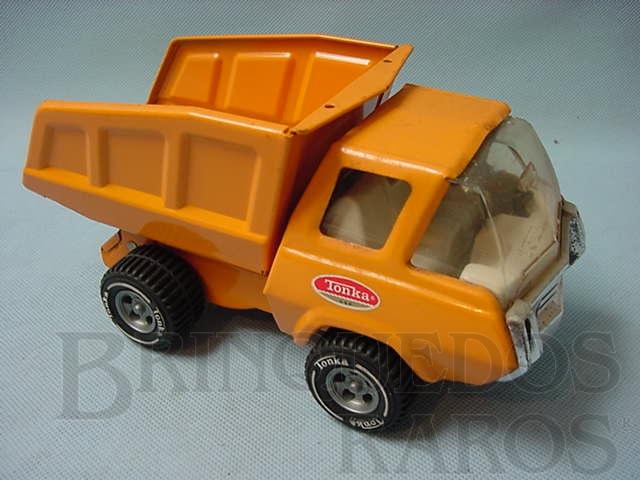 Brinquedo antigo Caminhão basculante com 20,00 cm de comprimento Década de 1970