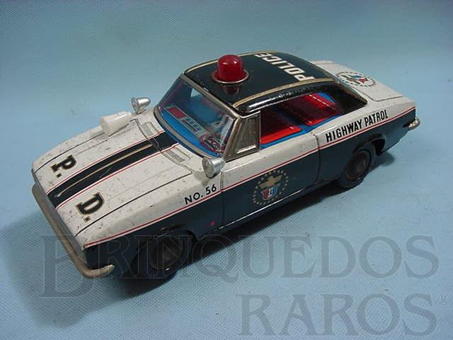 Brinquedo antigo Carro Highway Patrol Década de 1970