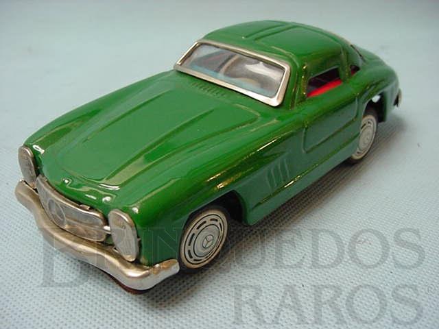 Brinquedo antigo Mercedes Benz 300 SL com 19,00 cm de comprimento Década de 1960