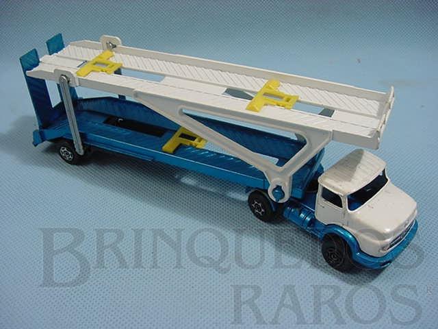 Brinquedo antigo Caminhão Cegonha Mercedes Benz Car Transporter Corgi Jr