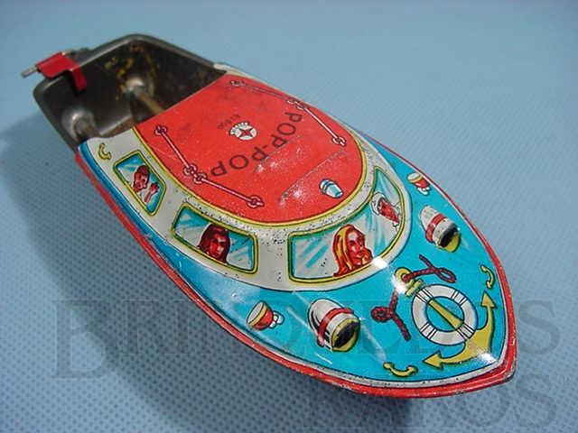 Brinquedo antigo Lancha Pop Pop original Ano 1972