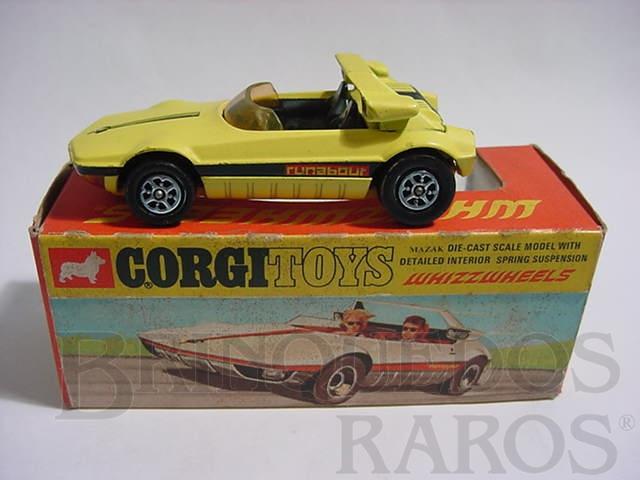 Brinquedo antigo Bertone Runabout Barchetta