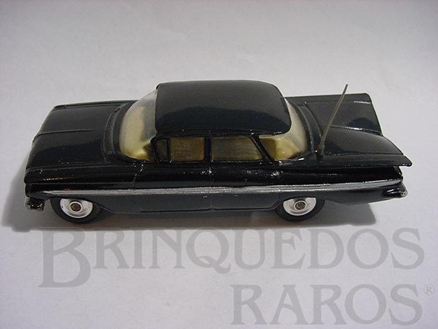 Brinquedo antigo Chevrolet Impala 1959 Police Car faltam os adesivos