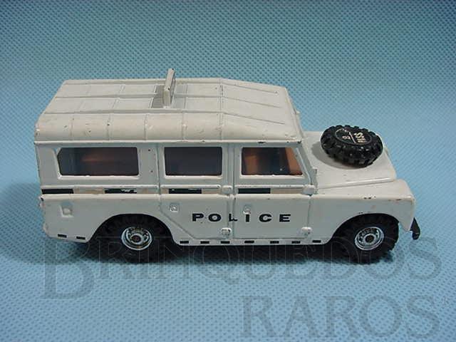 Brinquedo antigo Land Rover Police