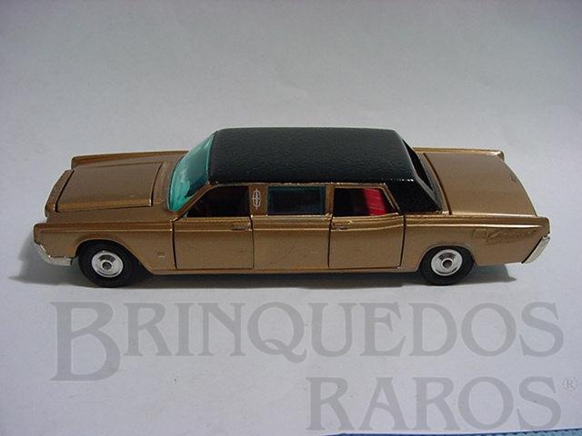 Brinquedo antigo Lincoln Continental Limousine completo com 3 telas de TV