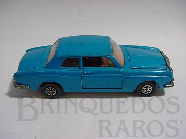 Brinquedo antigo Rolls Royce Silver Shadow azul
