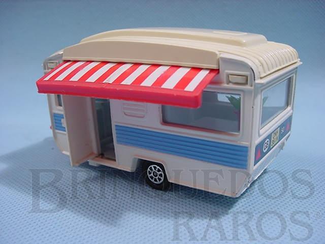 Brinquedo antigo Trailer Caravan Década de 1970
