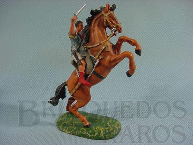 Brinquedo antigo Comandante Romano a cavalo